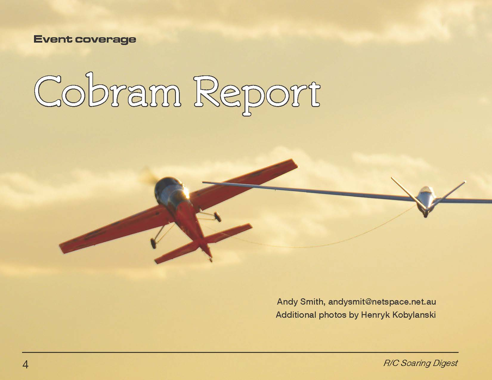 MMAC Review article in RC Soaring Digest